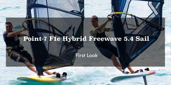 Point 7 F1e Hybrid Freewave | Foil & Fin