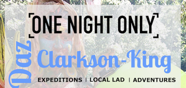 Darren Clarkson King : a talk about twenty years of Himalayan exploration