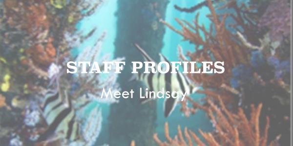 Staff Profile: Meet Lindsay